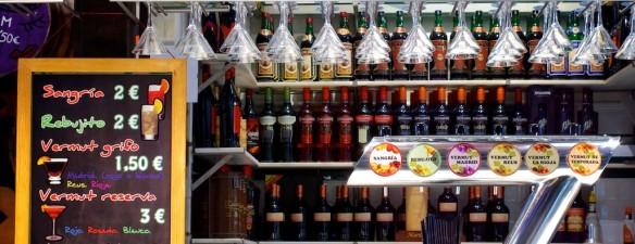 Sangria and Vermut Bar - San Miguel Market Madrid - MySpanishExperience.com