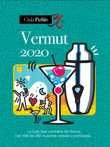 portada azul de la guía Peñín del Vermut 2020.